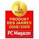 1. Platz - Produkt des Jahres 2008/2009