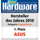Hersteller des Jahres 2010 - Kategorie: Hauptplatinen
