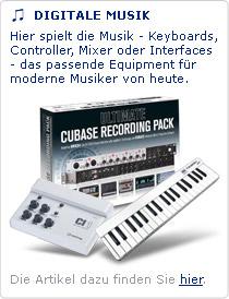 Keyboards, Controller, Mixer - Ihre Musikerkarriere startet hier.