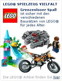 Lego ist für jede Altersgruppe ein Riesenspaß!