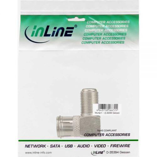 inline adapter f quick stecker sat auf f buchse. Black Bedroom Furniture Sets. Home Design Ideas