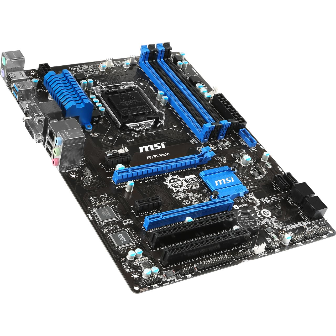 Overview for Z97 PC Mate  Motherboard  MSI Notebook