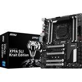 MSI X99A SLI Krait Edition Intel X99 So.2011-3 Quad Channel DDR4 ATX Retail