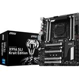 MSI X99A SLI Krait Edition Intel X99 So.2011-3 Quad Channel DDR4 ATX Retail