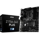 MSI Z170A-G43 PLUS Intel Z170 So.1151 Dual Channel DDR4 ATX Retail
