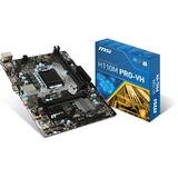 MSI H110M PRO-VH Intel H110 So.1151 Dual Channel DDR4 mATX Retail