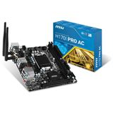 MSI H170I PRO AC Intel H170 So.1151 Dual Channel DDR4 Mini-ITX Retail