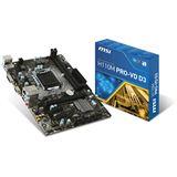 MSI H110M PRO-VD D3 Intel H110 So.1151 Dual Channel DDR3 mATX Retail