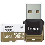 128 GB Lexar Professional 1000x microSDHC Class 10 U3 Retail inkl. USB-Adapter