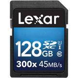 128 GB Lexar Platinum II SDXC 300x Class 10 U1 Retail