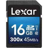 16 GB Lexar Platinum II SDHC 300x Class 10 U1 Retail