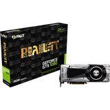 8192MB Palit GeForce GTX 1080 Founders Edition Aktiv PCIe 3.0 x16 (Retail)