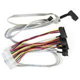 Adaptec mini SAS HD x4 (SFF-8643) auf 4x SAS (SFF-8482) Kabel, 0.8m (2279600-R)