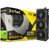 8192MB ZOTAC GeForce GTX 1080 AMP! Extreme Edition Aktiv PCIe 3.0 x16 (Retail)