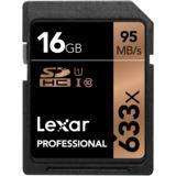 16 GB Lexar Professional SDHC 633x Retail