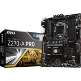 MSI Z270-A PRO Intel Z270 So.1151 Dual Channel DDR4 ATX Retail