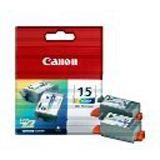 Canon Tinte BCI-15C 2er-Pack 8191A002 cyan, magenta, gelb