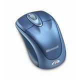 Microsoft Wireless 3000 Winter Optische Maus Blau USB