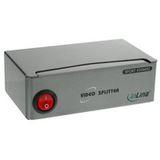 InLine VGA Monitor Verteiler, 2-fach, Bandbreite 350MHz