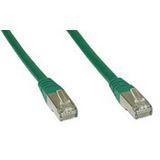(€0,66*/1m) 15.00m InLine Cat. 6 Patchkabel S/FTP PiMF RJ45 Stecker auf RJ45 Stecker Grün PVC