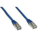 (€2,45*/1m) 2.00m InLine Cat. 6 Patchkabel S/FTP PiMF RJ45 Stecker auf RJ45 Stecker Blau PVC