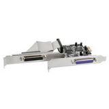 InLine Schnittstellenkarte 2x parallel 25-pol, PCIe