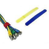 Kabelbinder, Klett-Verschluss, Farbe: rot