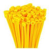 Kabelbinder, Länge 98mm, Breite 2,5mm, 100 Stück gelb