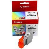 Canon Tinte BCI-24BK Multipack 6881A009 schwarz