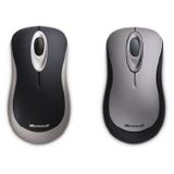 Microsoft Wireless 2000 Optische Maus Schwarz/Grau USB