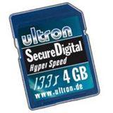 4GB Ultron Secure Digital Card 133x HYPER