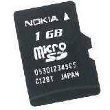 1 GB Nokia MU-22 microSD Class 2 Bulk