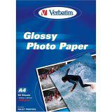 Verbatim Inkjet Fotopaper Glossy A4 50 sheet