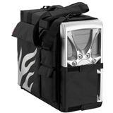 PC-Tragevorrichtung 42 Degrees Seitentaschen, Voll-Case-Protect Schwarz-Silber
