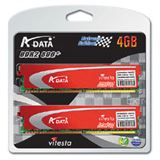 4GB ADATA XPG + Series DDR2-800 DIMM CL4 Dual Kit