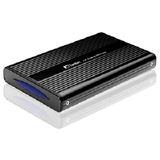 "Fantec DB-228US-1 2.5"" (6,35cm) USB 2.0 schwarz"