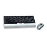 CHERRY M82-24810DE Cordless Desktop eVolution Control XT Tastatur+Maus Schwarz/Silber Deutsch USB