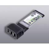 Ultron Express Card 3-Port Firewire/USB 2.0 Combo Adapter