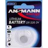 ANSMANN Knopfzelle CR1220 Lithium 3.0 V 1er Pack
