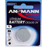 ANSMANN Knopfzelle CR2450 Lithium 3.0 V 1er Pack
