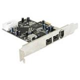 Delock 89153 3 Port PCIe x1 retail