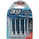 ANSMANN Akkus AA / Mignon Nickel-Metall-Hydrid 2850 mAh 4er Pack