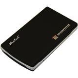 "2.5""(6,35cm) Wintech EX-MOB-29 Alu SATA USB 2.0 Schwarz"