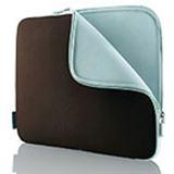"""Belkin Notebook Neopren Sleeve 17"""" (43,2cm) schoko/tourmaline"""