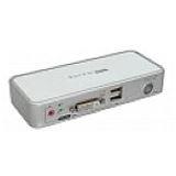 InLine KVM Switch, DVI, 2-fach, USB, mit Audio