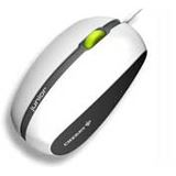 CHERRY M-T1000 Junior Corded Optical Mobile Mouse USB weiß/grau (kabelgebunden)