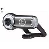 Logitech Web Kamera Vision Pro QuickCam 2.0 MPixel 1600x1200 Schwarz/Silber USB 2.0