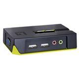 KVM 02 Port/USB LevelOne KVM-0221 Audio