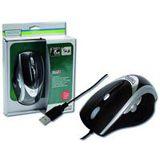 Digitus DA-20123 Laser Maus Schwarz USB