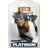 2 GB Platinum HighSpeed grau USB 2.0